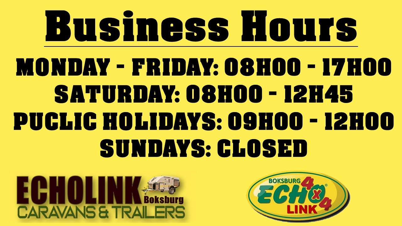 Echo Link opening hours
